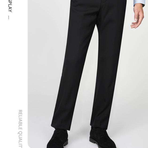 九牧王 TAV20401D3 男裤化纤西裤