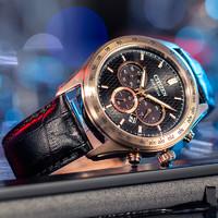 双11预售:CITIZEN 西铁城 Eco-Drive CA4453-14E 男士光动能手表