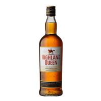 英国高地女王(Highland Queen)苏格兰威士忌 700ml *3件