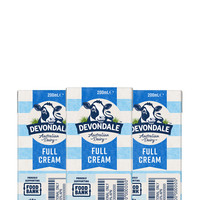 1日0点、88VIP:Devondale 德运 全脂纯牛奶 200ml*24盒
