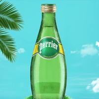 双11预售:Perrier 巴黎水 原味含气天然矿泉水 330ml*12瓶