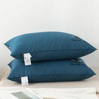 YALU 雅鹿 单边蓝 护颈枕头 74*48*29cm 一只装