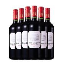 双11预售:让德格拉芙 波尔多红葡萄酒 750ml*6支