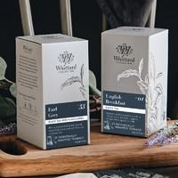 双11预售:Whittard Of Chelsea 英式伯爵红茶+早餐茶 25袋*2盒