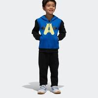 adidas 阿迪达斯 小童训练运动套装 DX1763 DX1762