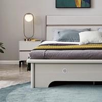 双11预售:QuanU 全友 126101 简约现代高箱储物床 1.5m