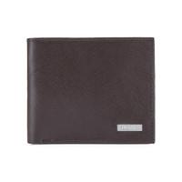 双11预售:Calvin Klein 卡文克莱 男士真皮短款钱包皮夹 2979393-BRN 棕色