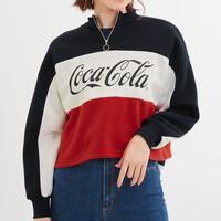 GU 极优 Coca-Cola 可口可乐合作款 322451 女士半拉链卫衣