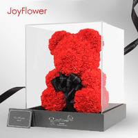 JoyFlower 永生花玫瑰小熊