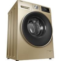 双11预售:Haier 海尔 EG10012B939GU1 变频滚筒洗衣机 10kg 香槟金