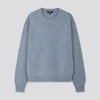 1日0点:UNIQLO 优衣库 418679 女士圆领针织衫