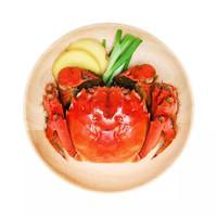 去绳足秤、周末品蟹、京东PLUS会员:京觅 鲜活大闸蟹现货 全母2.2-2.5两 8只装