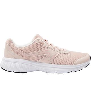 迪卡侬运动鞋女秋冬季轻便女鞋防滑软底休闲鞋减震透气跑步鞋RUNS(40、少女粉)