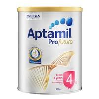 百亿补贴:Aptamil 爱他美 白金版 婴儿配方奶粉 4段 900g