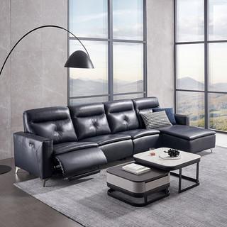 芝华仕头等舱沙发真皮电动意式轻奢皮艺功能大户型客厅家具10258