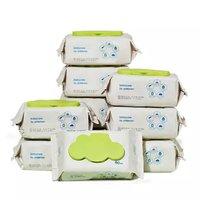 1日0点:babycare 婴儿手口湿巾  80抽 10包 *6件