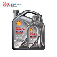 双11预售:Shell 壳牌 Helix Ultra 超凡喜力 都市光影版 5W-30 API SP级 全合成机油 4L+1L