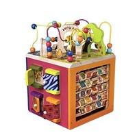 考拉海购黑卡会员:B.Toys比乐 BX1004Z 动物园活动木立方