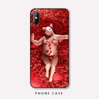 spiderholster趣味潮牌搞怪猪适用于苹果x手机壳XS Max XR iPhoneX七7p六6s八8plus软
