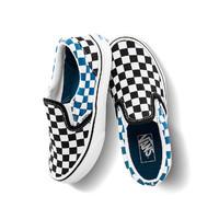 双11预售:Vans 范斯 儿童棋盘格低帮帆布鞋