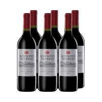 1日0点、双11预售、88VIP:Penfolds 奔富 洛神山庄 西拉赤霞珠 红葡萄酒 6支