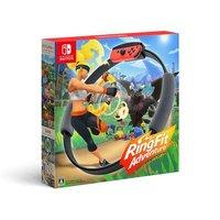 SUPER1000:Nintendo 任天堂 NS游戏套装《健身环大冒险》海外版