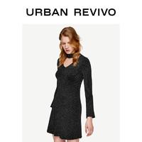 1日0点:URBAN REVIVO WG03S9FN2005 女装针织连衣裙