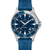 1日0点、历史低价:HAMILTON 汉米尔顿 卡其海军系列 H82345341 男士自动机械手表
