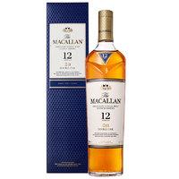 88VIP:MACALLAN 麦卡伦 12年蓝钻 单一麦芽威士忌  700ml