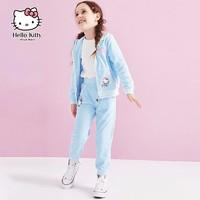 Hello Kitty 凯蒂猫 女童运动两件套