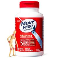 Schiff 旭福 MoveFree 益节维骨力 含1500mg氨糖软骨素红瓶 80粒 *2件
