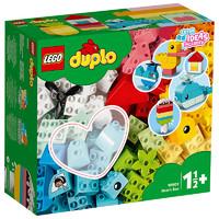 1日0点、考拉海购黑卡会员:LEGO 乐高 得宝系列 10909 心形创意积木盒