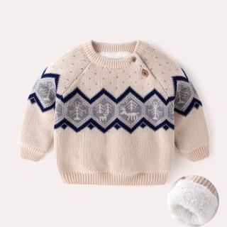 嘟嘟家 婴儿冬季加绒毛衣