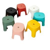 福人吉利 塑料小凳子 儿童款 21.5*19.5cm 颜色随机