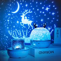 星空投影仪小夜灯卧室床头满天星创意梦幻浪漫儿童睡眠星光台灯女