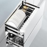 HIGOLD 悍高 30323X 橱柜拉篮抽屉式(600柜碗篮+平篮)