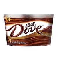 Dove 德芙 丝滑牛奶巧克力 252g *10件