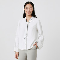 限尺码:Lily 丽丽 120130C4243 女式中袖衬衫