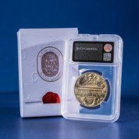 法国造币厂故宫紫禁城建成600纪念币-单枚卡折版