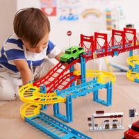 HKPZ 托马斯拼装电动高速轨道玩具 标配版1车