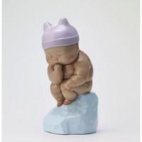 艺术品:稀奇新品瞿广慈人物雕塑《小小思想者》桌面摆件艺术品礼物