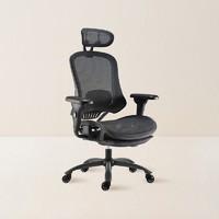 考拉海购黑卡会员:YANXUAN 网易严选 多功能人体工学电脑椅 升级款 黑色