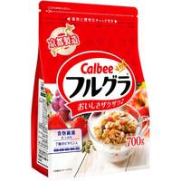 Calbee卡乐比 富果乐 水果麦片 700g/袋  *3件