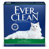 EverClean 蓝钻 活性炭低敏猫砂 红标清香 25磅