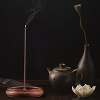尚得堂老山檀香香炉客厅茶室沉香熏香摆件仿古创意