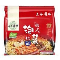 五谷道场 韩式泡菜拉面 102gx5袋 *11件