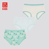 UNIQLO 优衣库 儿童内裤3条装