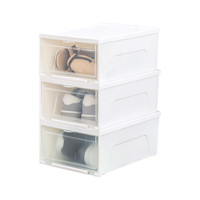 88VIP:IRIS 爱丽思 塑料透明鞋盒 3只装 *5件