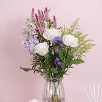 京东PLUS会员:Reflower 花点时间 粉色系定制款花束 冬日恋歌