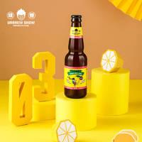 优布劳 幼兽柠檬精酿啤酒 300ML*6瓶